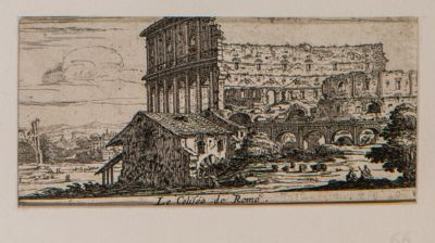 Colosseo, veduta da mezzogiorno