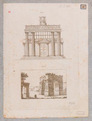 Arco di Giano, veduta generale