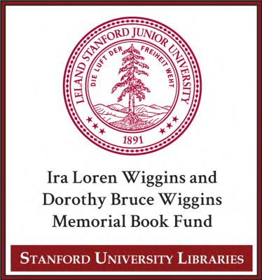Ira Loren Wiggins and Dorothy Bruce Wiggins Memorial Book Fund