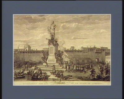 Evacüation par les Français de la place de Livourne le 14 mai 1797 [estampe]