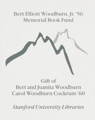 Bert Elliott Woodburn, Jr. '56 Memorial Book Fund