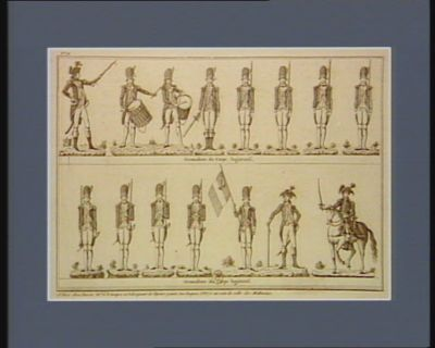 Grenadiers du corps legislatif [estampe]