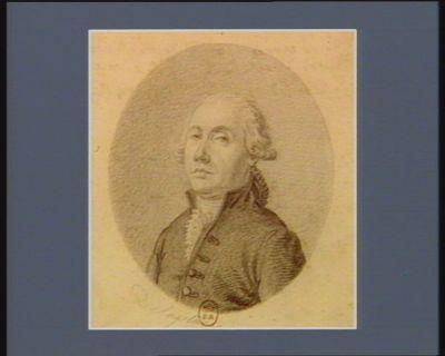 L. Banoy de Lachaud deputé du Baillage de guéret haute-Marche né à Felotin le 21 x.bre 1729 : pour 24 Epreuves : [dessin]