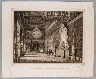 Palazzo del Quirinale. Sala del Trono
