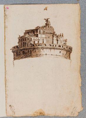 Castel S. Angelo, veduta del maschio