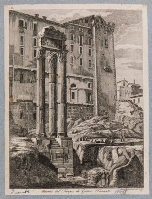 Tempio di Vespasiano e Tabulario