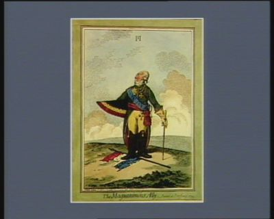 The  Magnanimous ally painted at Petersburg 1799 : [estampe]
