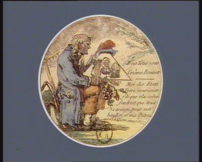 Trois têtes sous l'même bonnet moi des etats l'pere nourissier j'di que vla com[m]<em>e</em> faudroit quetous s'arangi, pour not'bon roi, et ma patrie : [estampe]