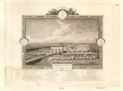 Confédération des Français à Paris l'an 2.me <em>de</em> la liberté et sous la 1.re législature le 14 juillet 1790 [estampe]