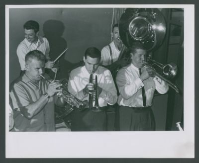 Lu Watters, Thad Vandon, Bob Neighbor, Bob Short and Turk Murphy