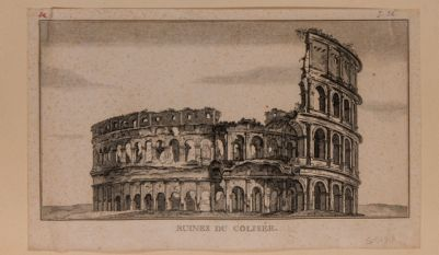 Colosseo, esterno, visto da levante