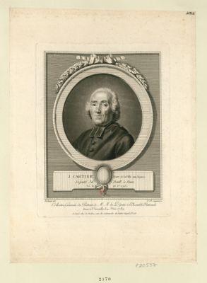 J. Cartier Curé de la Ville aux Dames Député du Baill. de Tours, Né le 23 J.er 1732 : [estampe]