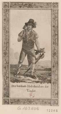 Der  Berühmte Hufschmied aus der Vendée [estampe]