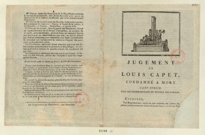 Jugement de Louis Capet [estampe]