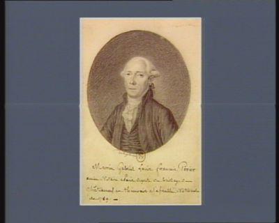 Marin Gabriel Louis Francois Perier ancien notaire à <em>Paris</em> deputé du baillage de Chateauneuf en Thimerais à l'Assemblée nationale de 1789 : [dessin]