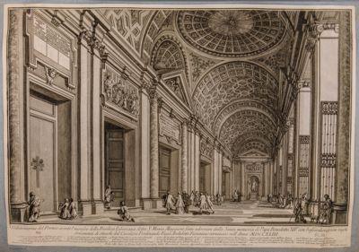 Chiesa di S. Maria Maggiore. Portico, interno