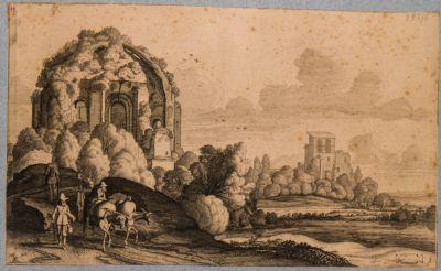 Tempio detto di Minerva Medica, esterno
