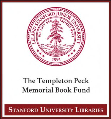 The Templeton Peck Memorial Book Fund