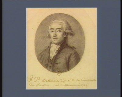 F.P. Delattre Député de la Sénéchaussée du Ponthieu - né à Abbeville en 1749 : [dessin]