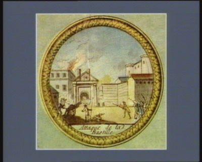 Attaque de la Bastille [estampe]