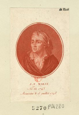 J.P. Marat né en 1743 assassiné le 13 juillet 1793 : [estampe]