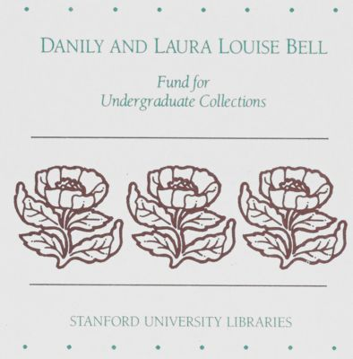 Danily and Laura Louise Bell Fund for Undergraduate Collections