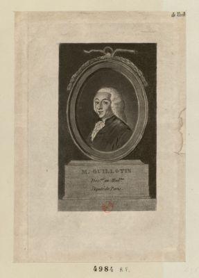 M. Guillotin doc.ur en med.ne, député de Paris [estampe]
