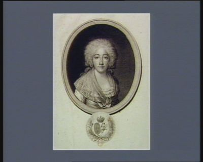 [Marie Josephe Louise de <em>Provence</em>] [estampe]