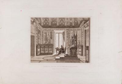 Palazzo Vaticano. Biblioteca. Sala dell'Inginocchiatoio