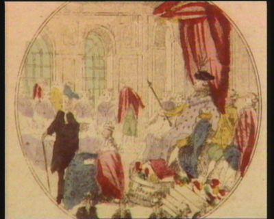 [Louis seize présidant l'Assemblée des Etats-généraux] [estampe]