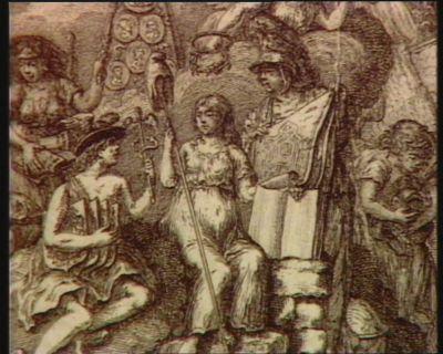 [La  Liberté entourée de Mercure, de Mars et d'autres personnages allégoriques] [estampe]