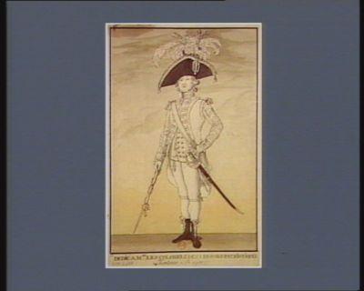 Tambour major dedié à Mrs les colonels des légions patriotiques : [estampe]