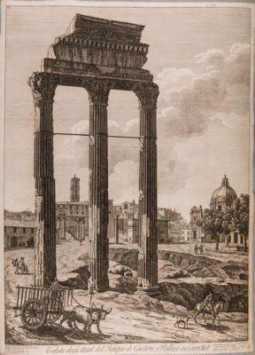 Tempio di Castore e Polluce, avanzi del tempio