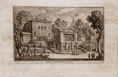 Vaticano. Giardini Vaticani. Ninfeo del Belvedere e Casina di Pio IV
