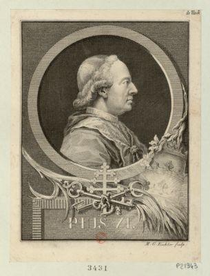 Pius VI [estampe]