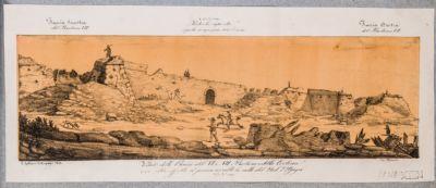 Mura Gianicolensi. Breccia del 21-22 giugno 1849