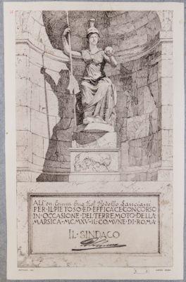 Museo Capitolino, statua di Roma, già Minerva