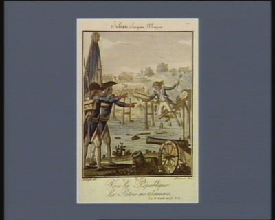 Juban, sergent major vive la republique ! la patrie me sauvera. Le 8 avril 1793 v.s. : [estampe]