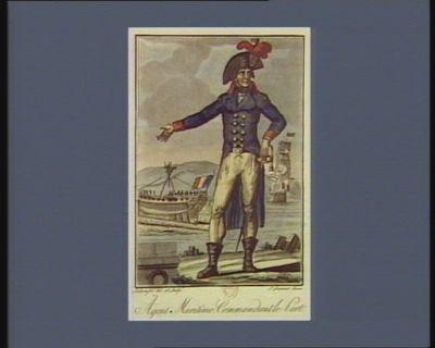 Agent maritime commandant le port [estampe]
