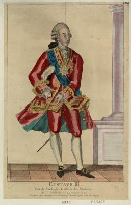 Gustave III roi de Suède, des Goths et des Vandales... : [estampe]