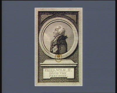 Fried. Wilh. II König von Preussen [estampe]
