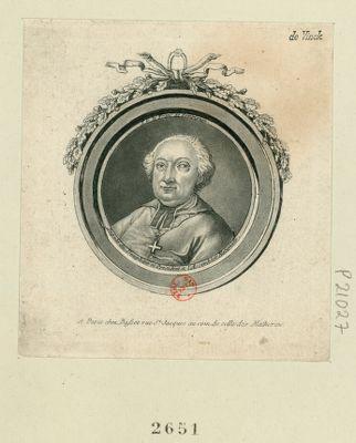 J. <em>G</em>. Le Franc de Pompignan député du Dauphiné et président à l'Assemblée nationale : [estampe]
