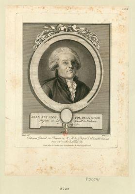 Jean Ant. Edou. Fos de La Borde député de la sénéch.ée de Toulouse, né en 1750 : [estampe]