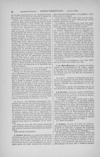 Tome 24 : Du 10 mars au 12 avril 1791 - page 52