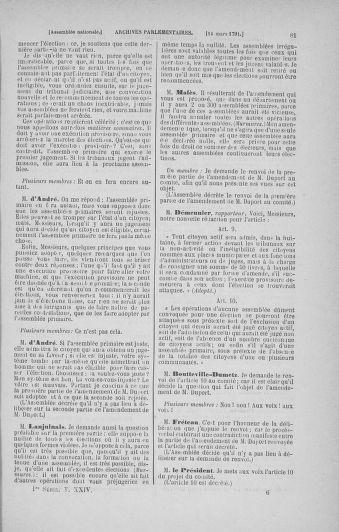 Tome 24 : Du 10 mars au 12 avril 1791 - page 81
