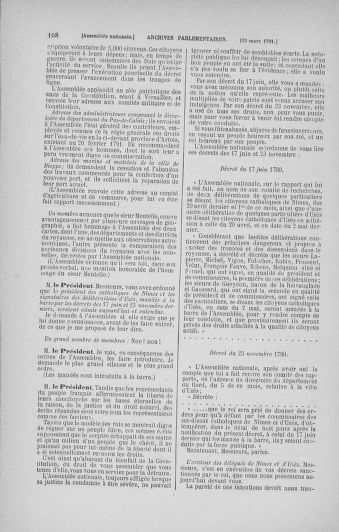 Tome 24 : Du 10 mars au 12 avril 1791 - page 108