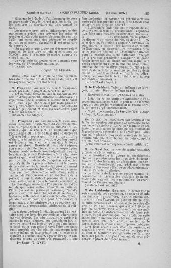 Tome 24 : Du 10 mars au 12 avril 1791 - page 129