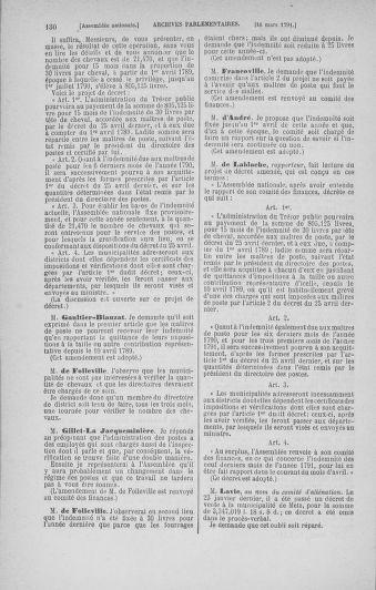 Tome 24 : Du 10 mars au 12 avril 1791 - page 130