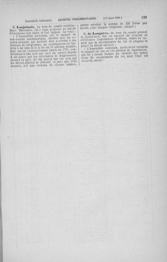 Tome 24 : Du 10 mars au 12 avril 1791 - page 139
