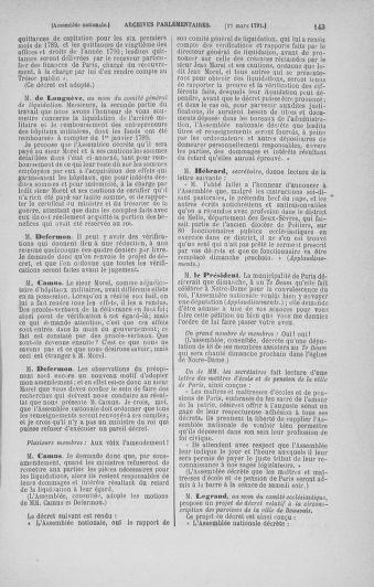 Tome 24 : Du 10 mars au 12 avril 1791 - page 143
